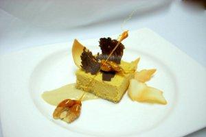 Pumpkin Cheese Cake Gingersnap Crust