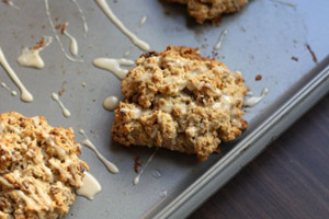 Oatmeal Maple Scones