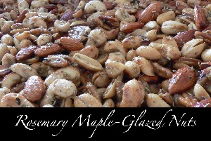 Rosemary Maple-Glazed Nuts Recipe
