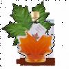 Maple Syrup Maple Leaf Bottle