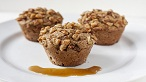 Maple Apple Muffins with Maple Walnuts