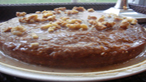 Maple Walnut Date Cake with Luscious Glaze