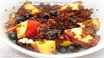 Peach and Blueberry Breakfast Quinoa